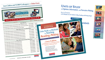 Units of Study for Teaching Phonics Grades K-2
