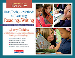 Lucy Calkins and TCRWP Series Overview