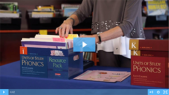 Phonics FAQs: What are some ways I can unpack and organize my resources from the resource pack? Unboxing the Resource Pack: Part 2