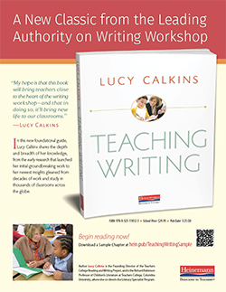 Teaching Writing Flyer